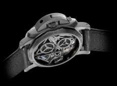 Lo Scienziato – Luminor 1950 Tourbillon GMT Titanio