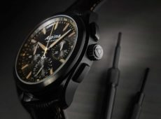 """The """"Full Black"""" Alpiner 4 Manufacture Flyback Chronograph"""