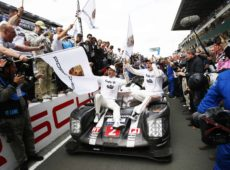 Chopard celebrates Porsche Motorsport's extraordinary 18th victory at the 24 Hours of Le Mans 2016