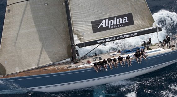 Press Release: Support for Alpina Sailing Collection