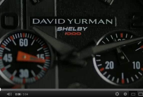 David Yurman Reveals Revolution Shelby 1000 Limited Edition Timepiece [Video]