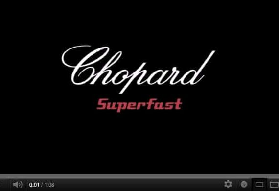 Chopard Superfast Watches — Embrace Power [Video]