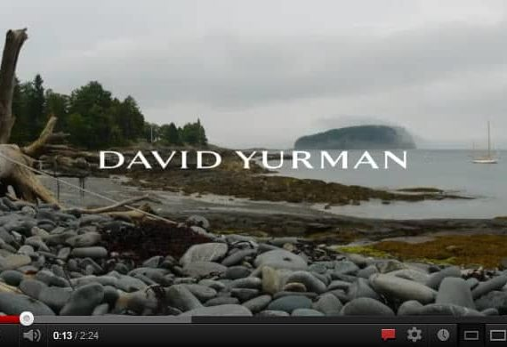 I Went To The Woods by David Yurman [Video]