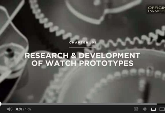Officine Panerai: research and development of watches prototypes [Video]