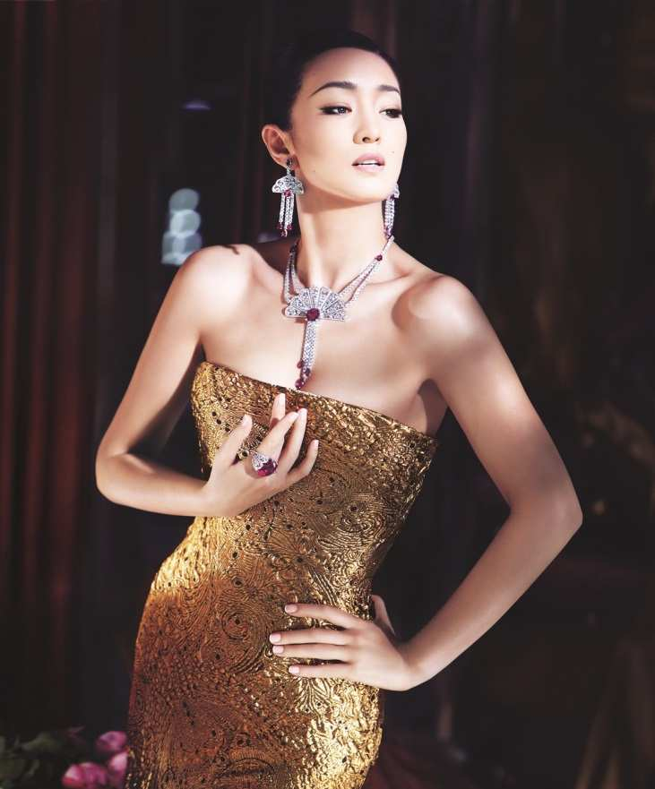 Enchanting Actress in Pursuit of Excellence Piaget Global Ambassador Gong Li Radiates in Dazzling Magnificence