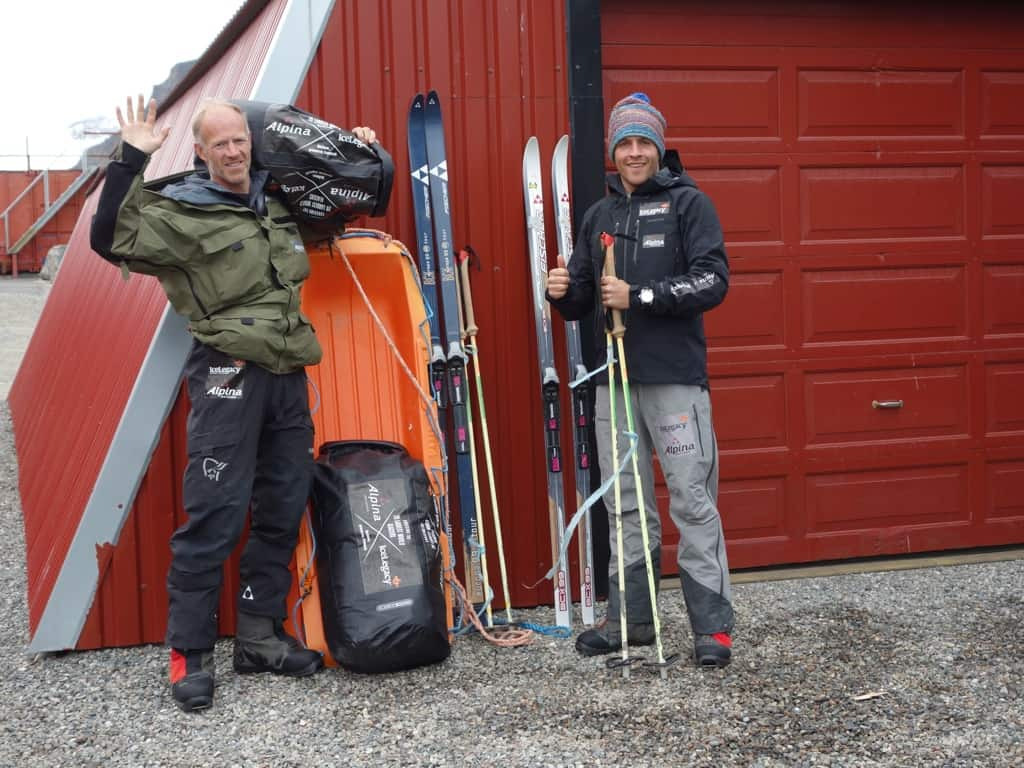 The Alpina Ice Legacy Project has started in the Svalbard Archipelago