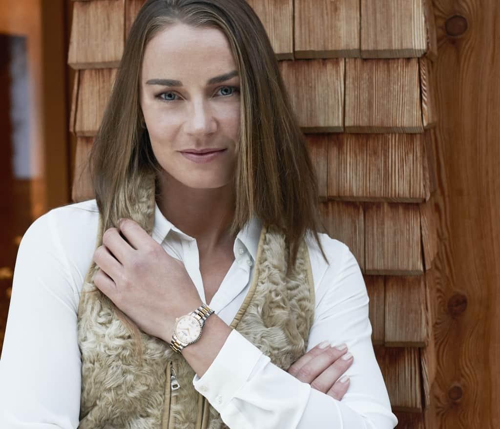 Tina Maze becomes the new global brand ambassador Alpina watches.