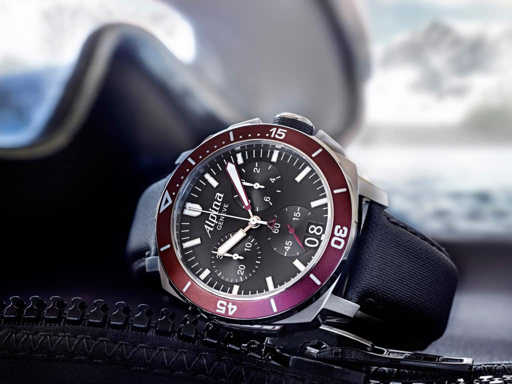 Alpina Watches Reveals The Seastrong Drive Chronograph Big Date - Alpina watches