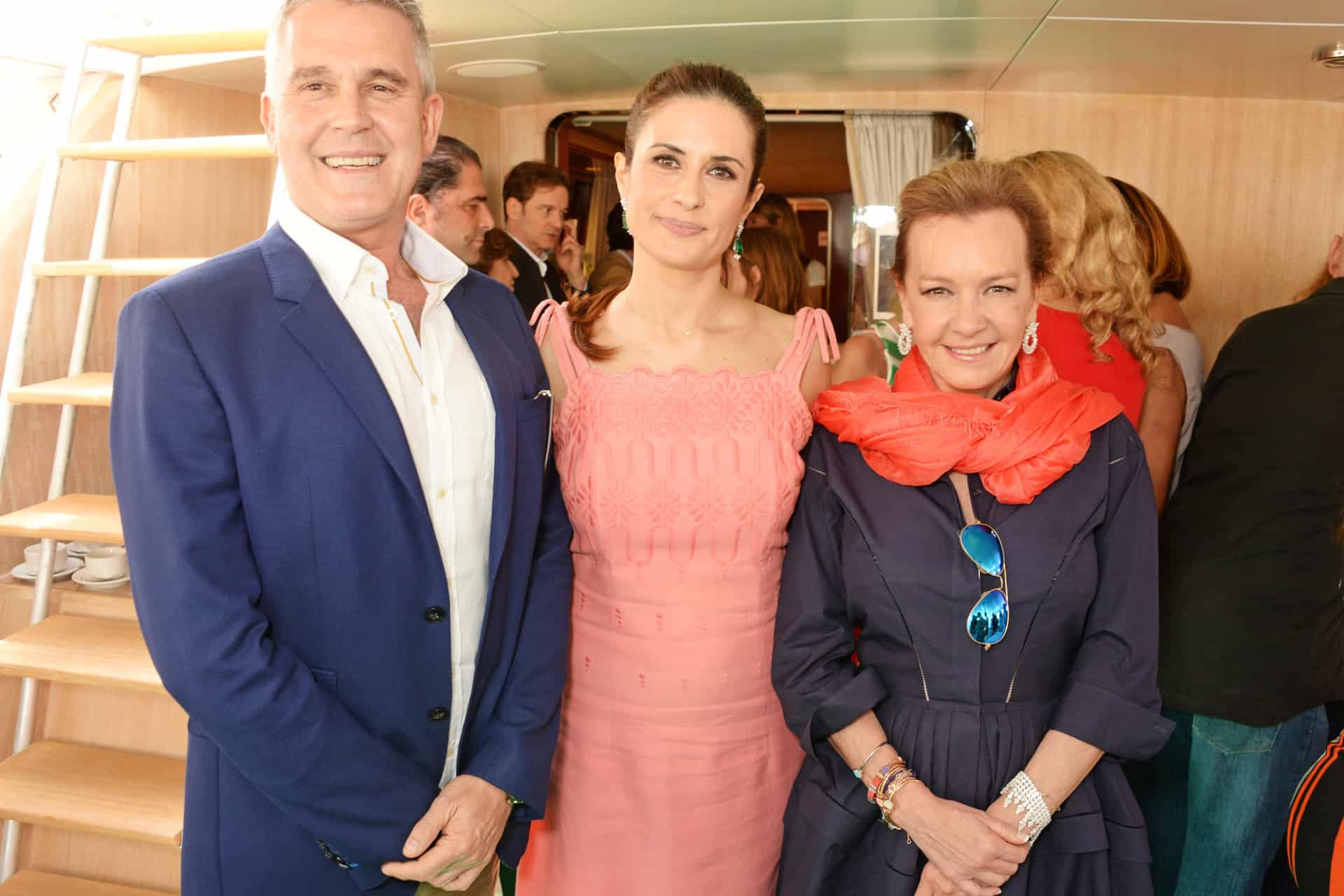 Caroline Scheufele, Colin and Livia Firth host intimate lunch to celebrate Chopard's latest Green Carpet Collection