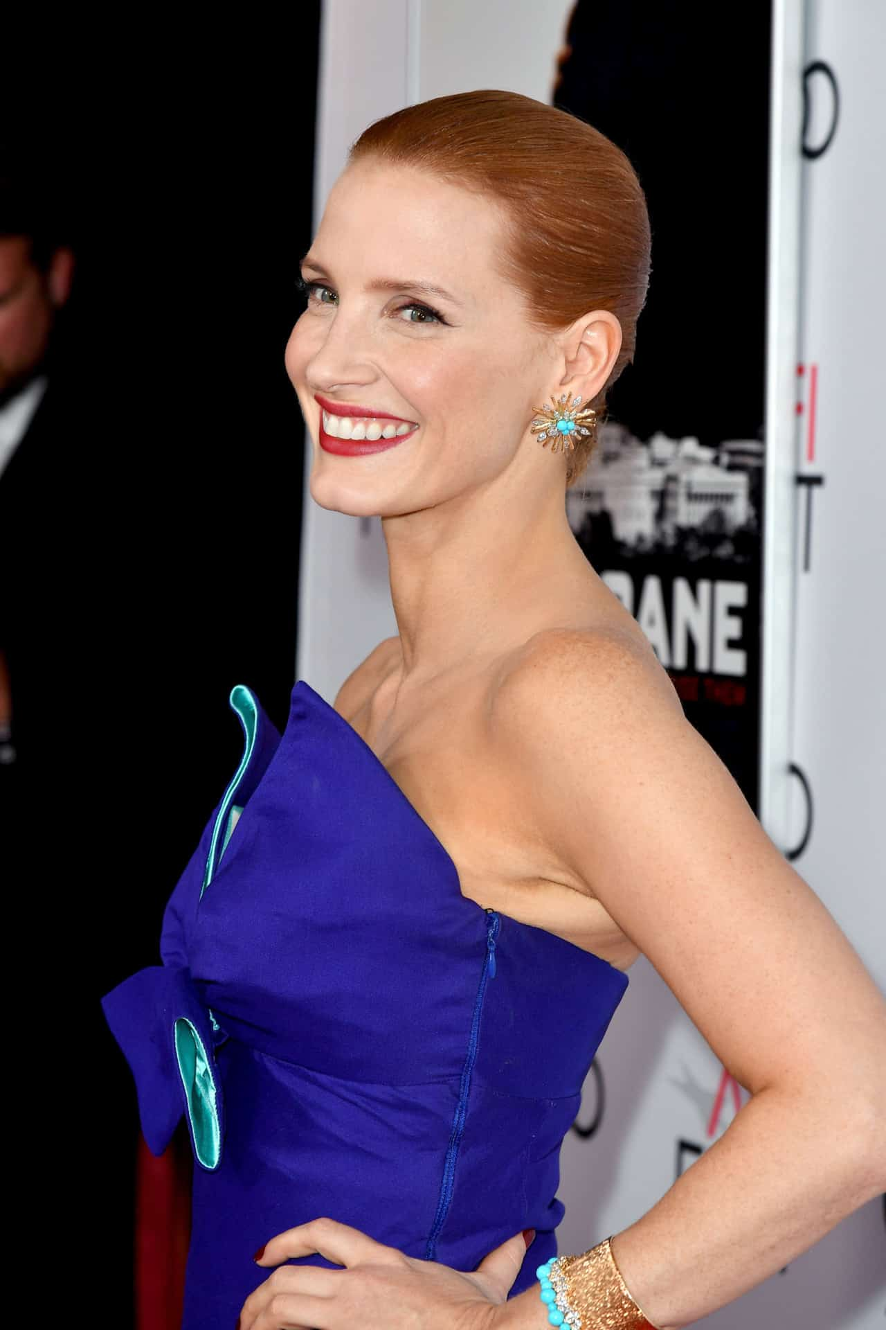 Jessica Chastain in Piaget for the AFI Fest Premiere of