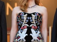 Jessica Chastain stunning In Piaget Jewellery at the opening of the 70th Cannes Film Festival