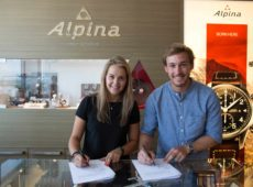 Charlotte Chable & Luca Aerni: The New Faces for Alpina Watches in Switzerland