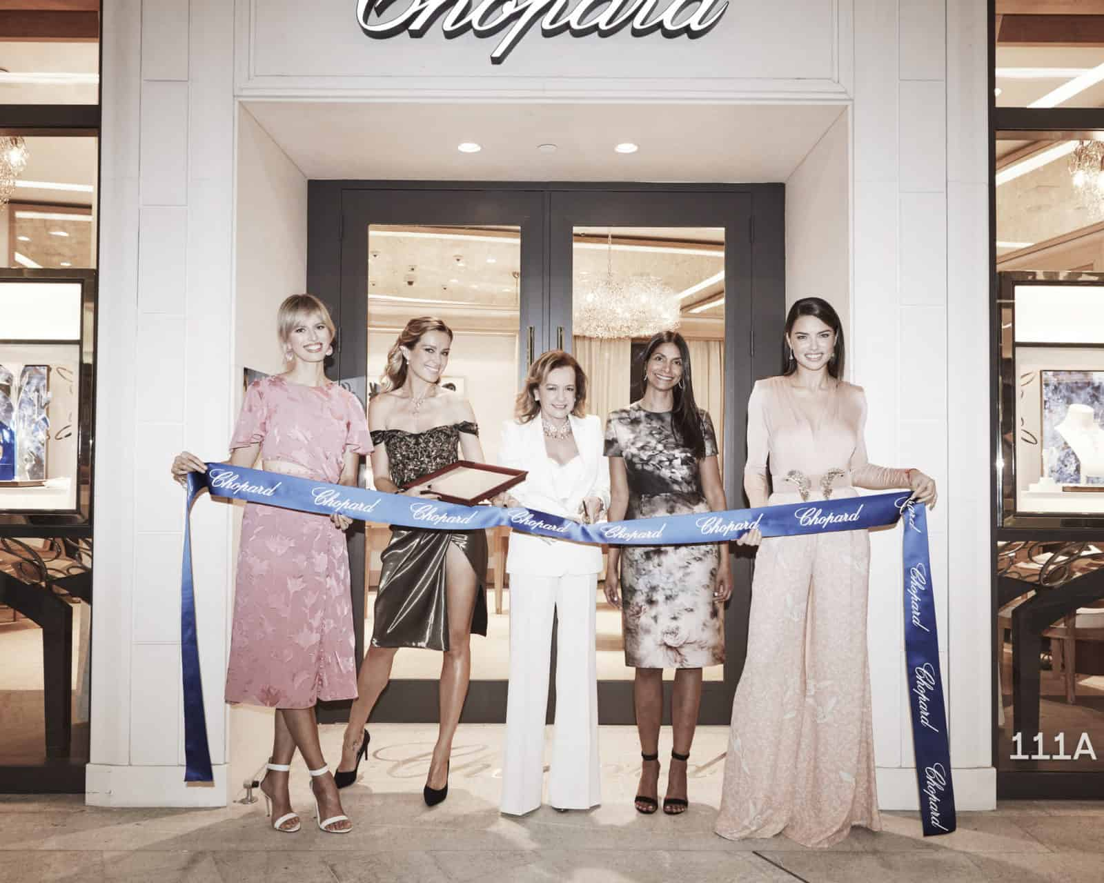 Chopard celebrates the grand opening of the brickell city for Centre boutique