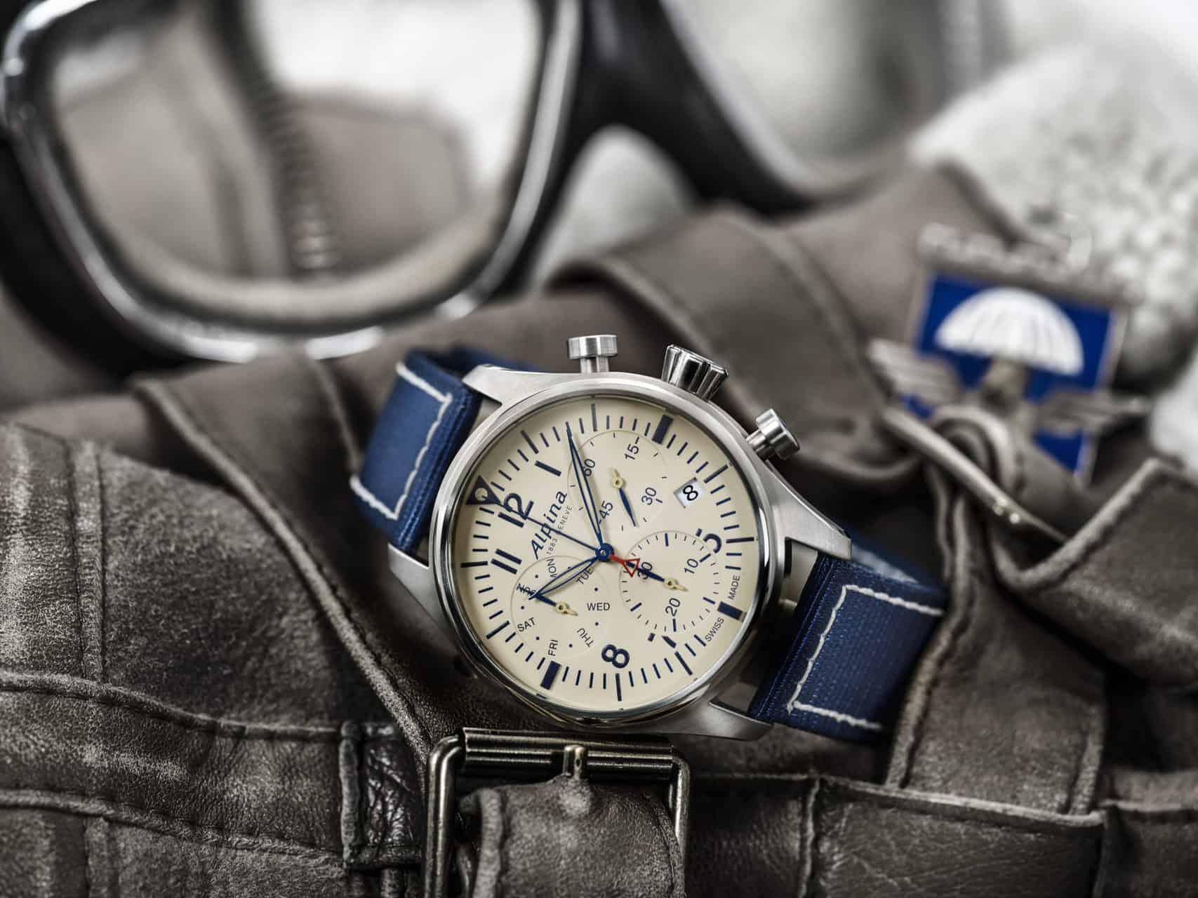 2018 Alpina Pre-baselworld Startimer Pilot Chronograph Quartz