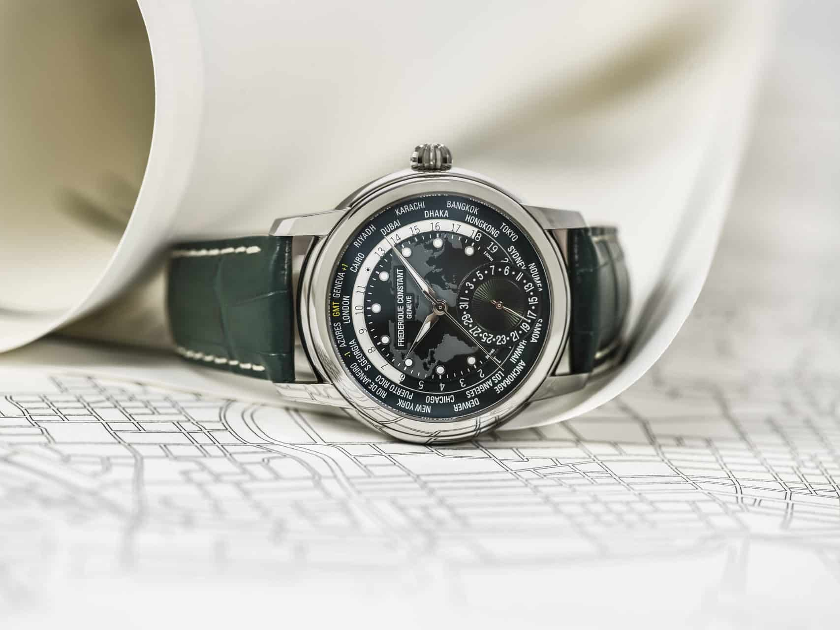 2018 Frederique Constant Pre-baselworld Novelty Classic Worldtimer Manufacture