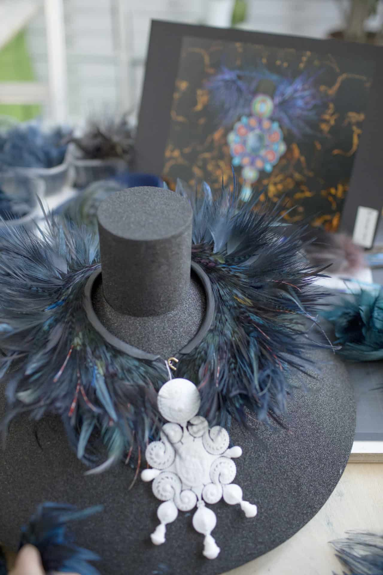 Making of Feather Necklace from the Red Carpet Collection 20