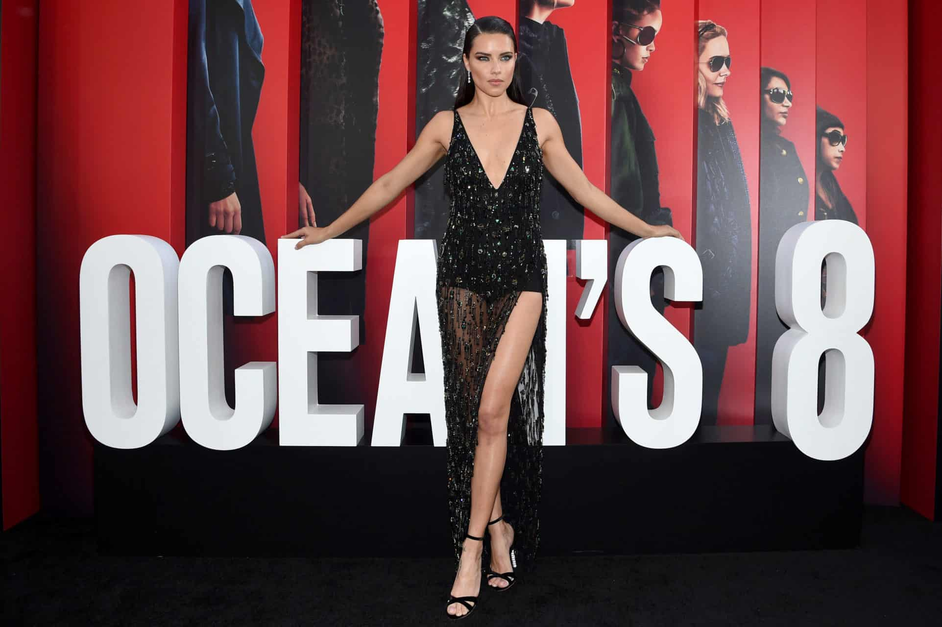 Chopard Ice Cube forever: Adriana Lima wears Chopard to the Ocean's 8 première in NYC