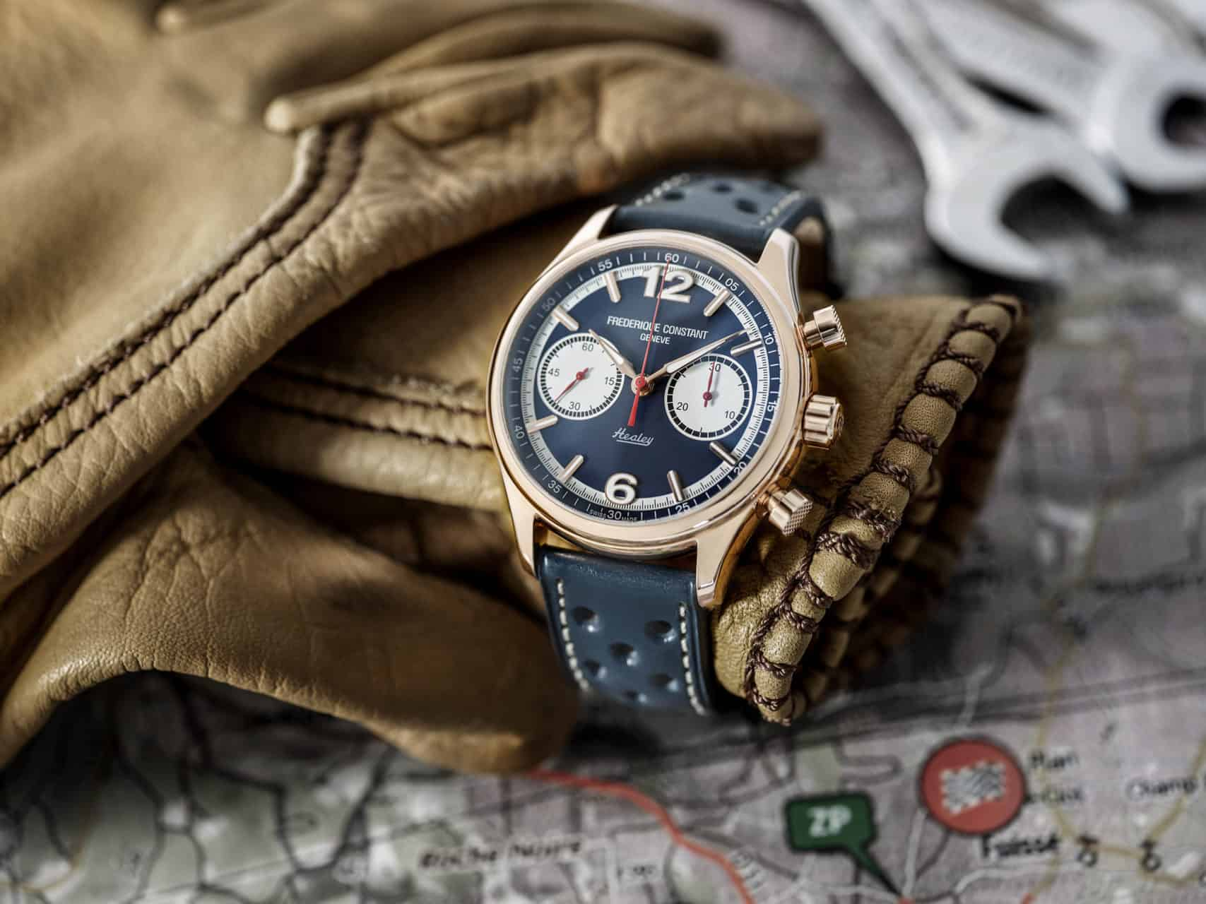 Frederique Constant Celebrates The Austin Healey Automobiles With Its New Limited Edtion Vintage Rally Chronograph