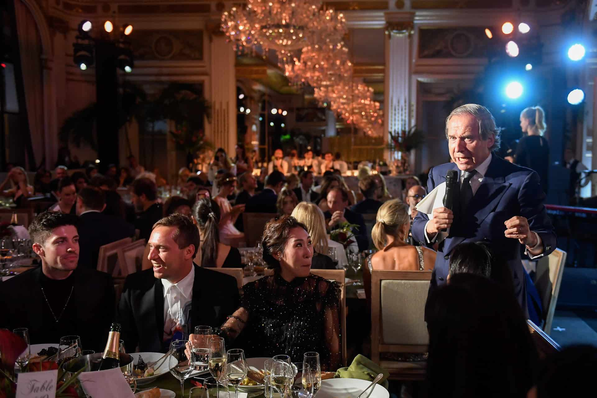 Chopard presenting sponsor of the amfAR dinner host in Paris during Couture Week
