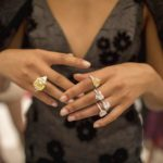 Giambattista Valli gives his Haute Couture creations a unique glow by pairing them with Chopard Haute Joaillerie