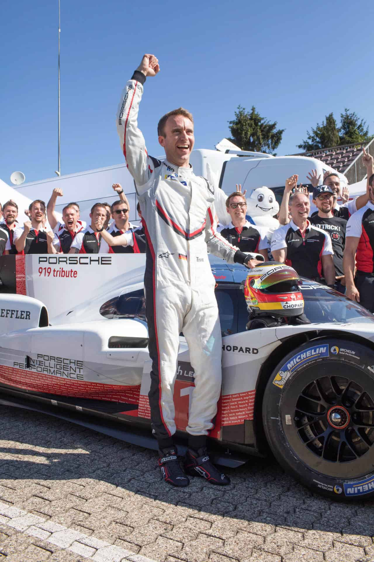Chopard proud to be associated with Porsche Motorsport and Timo Bernhard in setting a new lap record