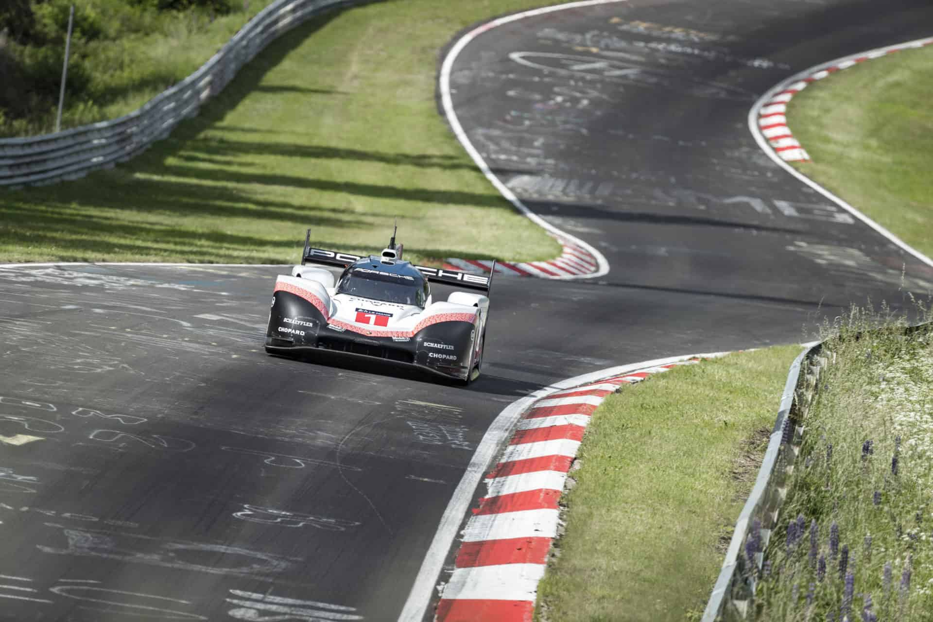 Best time on the Nürburgring Nordschleife Timo Bernhard beats 6 minute mark 6