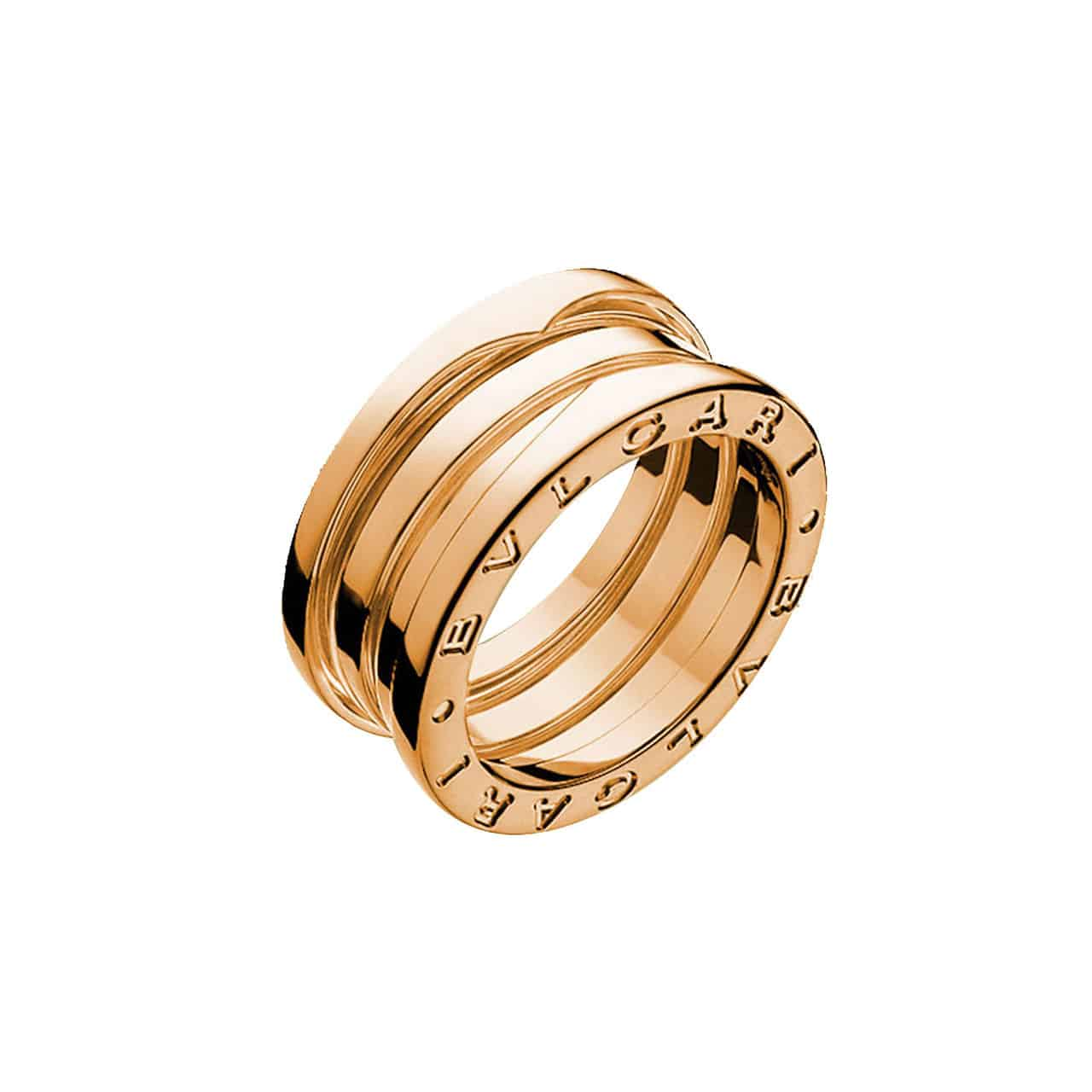 e1ed66593aba9 B.zero1 3 Band Rose Gold Ring (AN852405)