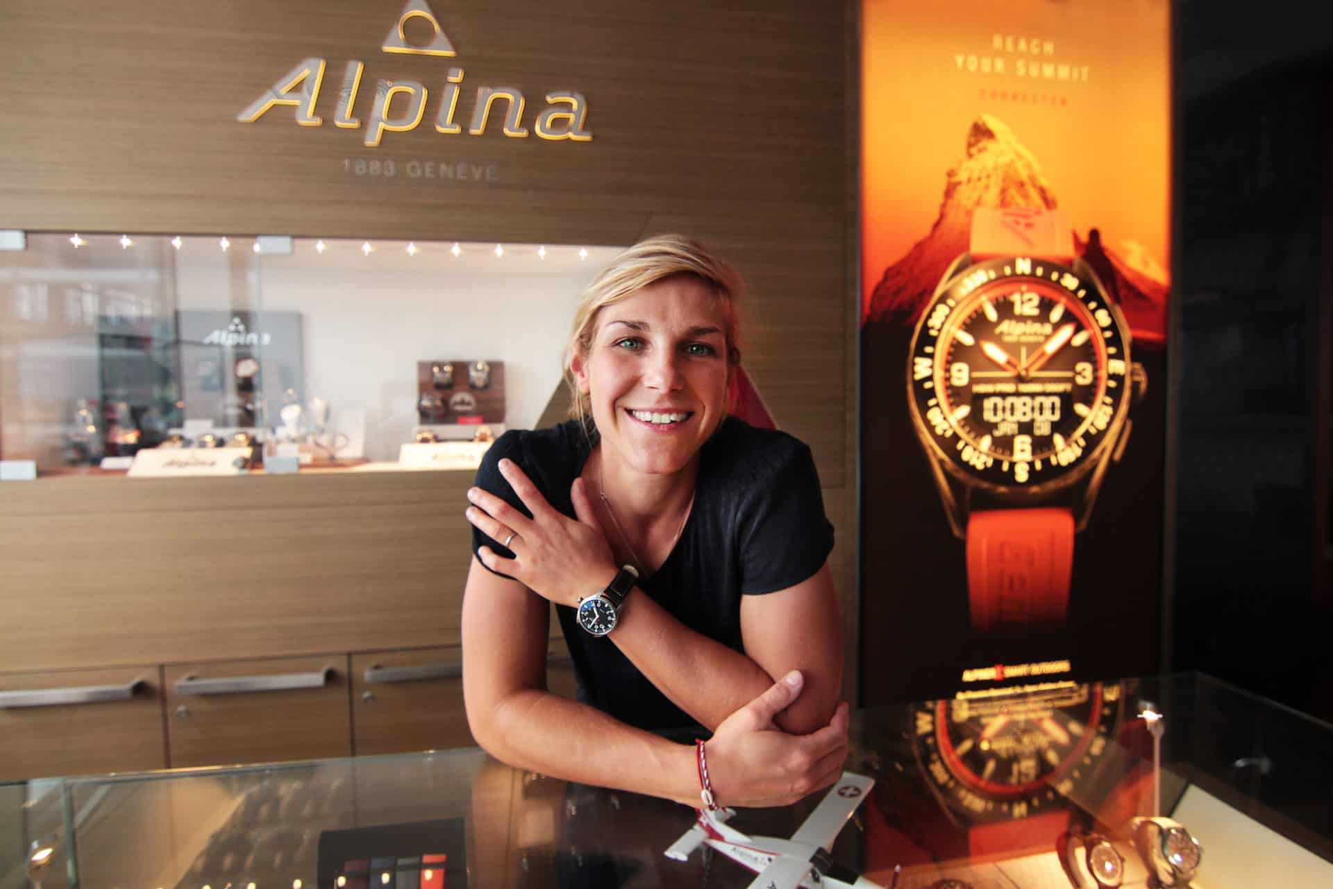 French FIS Worldcup Snowboarder Nelly Moenne-loccoz – Alpina Watches Brand Ambassador