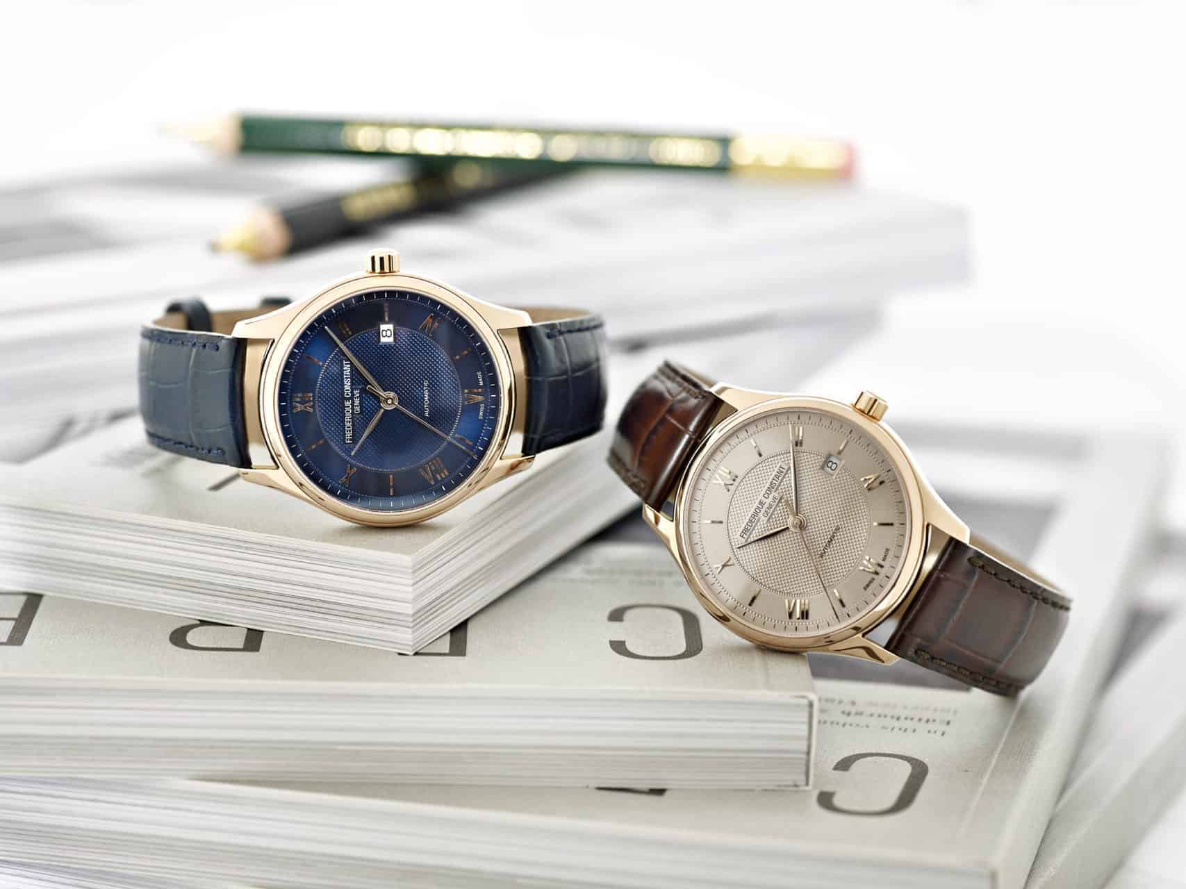 Frederique Constant's revisits its Classics Index Automatic and Heart Beat watches
