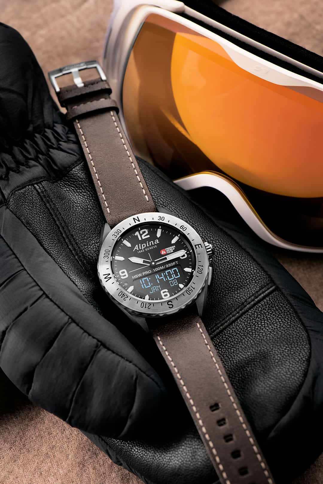 Alpina becomes the official timekeeper of the  2019 Freeride World Tour