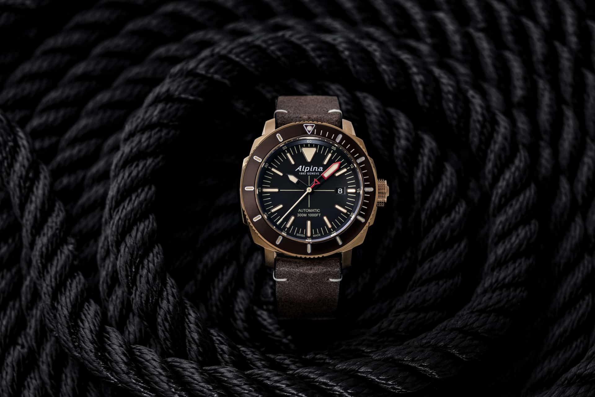 Alpina's diving history goes on with the new Seastrong Diver 300