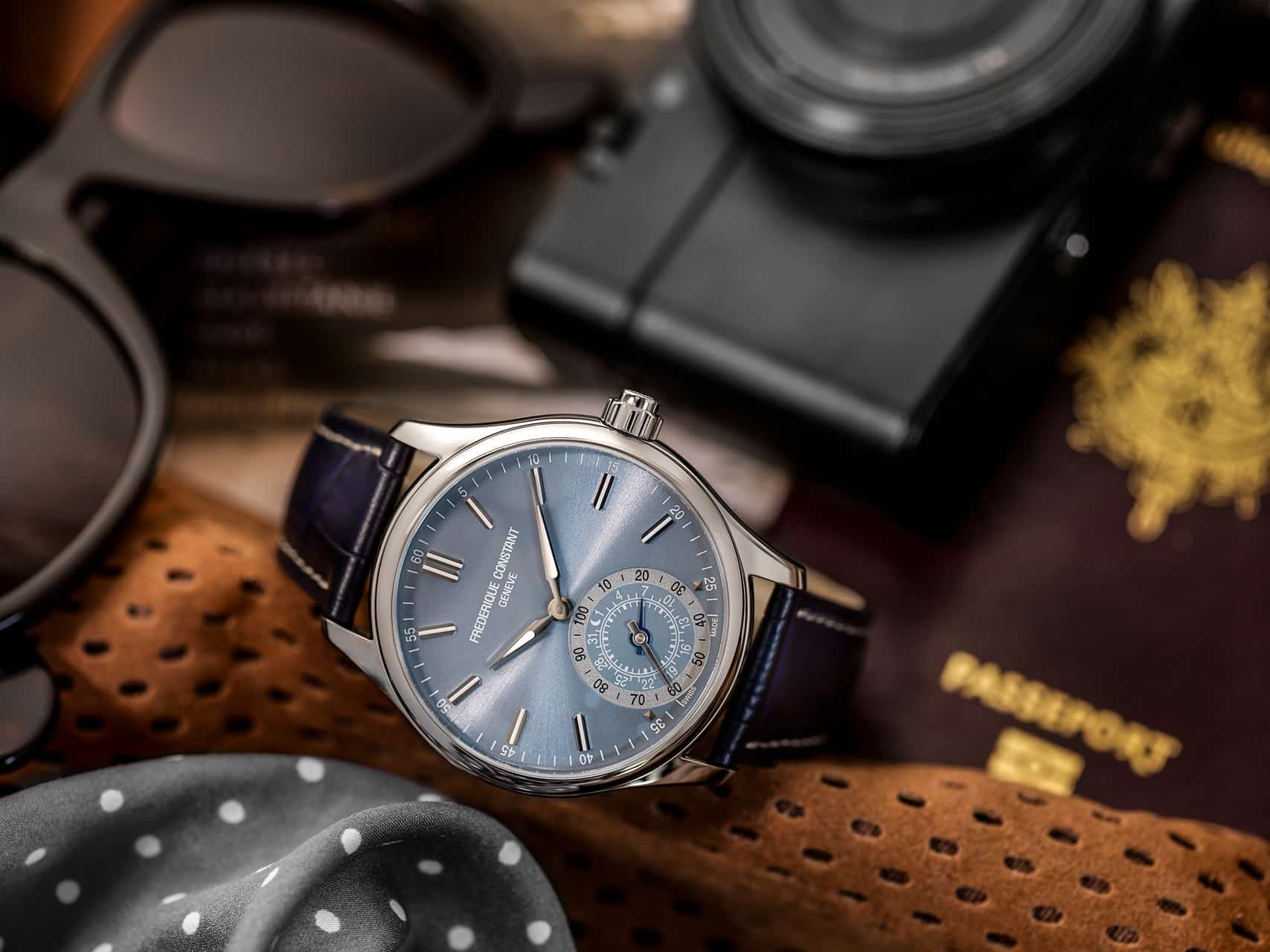 New generation Horological Smartwatches for gents now available at Frederique Constant