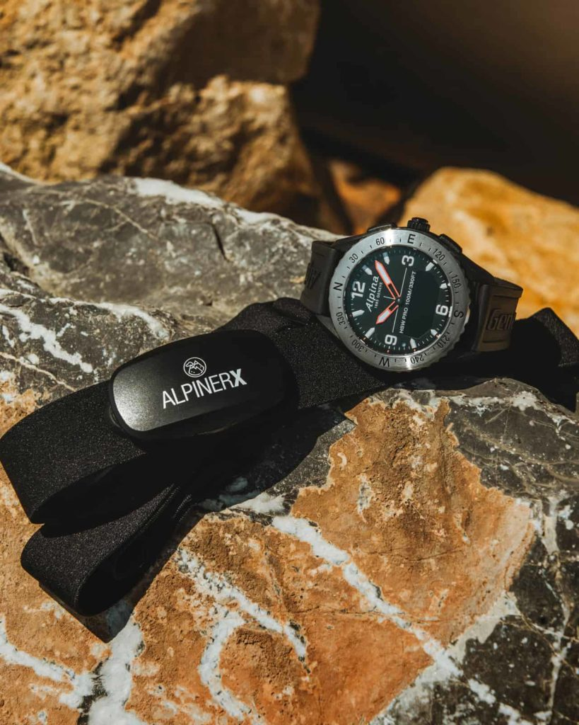 Alpina AlpinerX HRM Belt 7